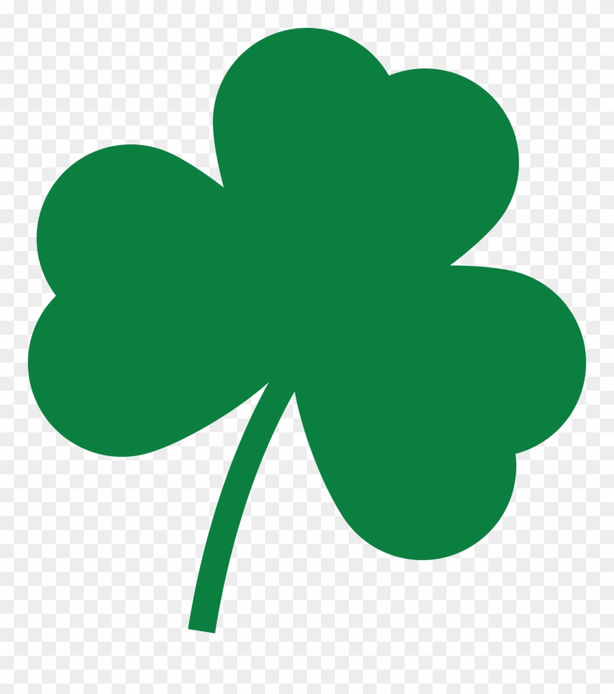 Shamrock Clipart Free Clipart Intended For Shamrock - Clip Art Shamrock - Png Download