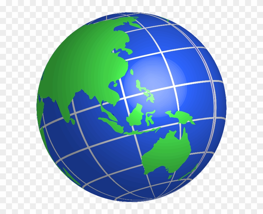 Earth Globe Clip Art Free Clipart Image - World Globe Clipart - Png  Download (#57608) - PinClipart