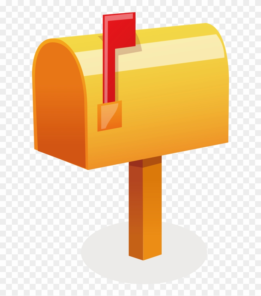 Mail Letter Box Post Box - Vector Clipart (#500288 ...