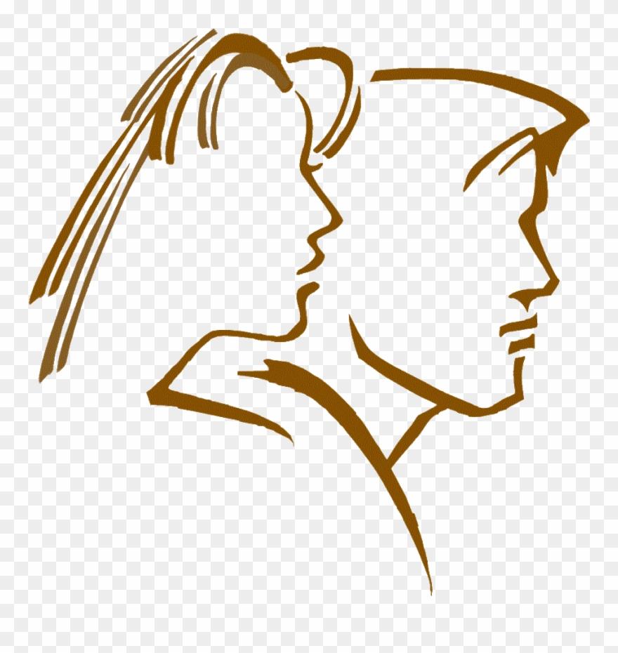 Hair Salon Logos And Clipart Men And Women Salon Logo Png Download 501092 Pinclipart
