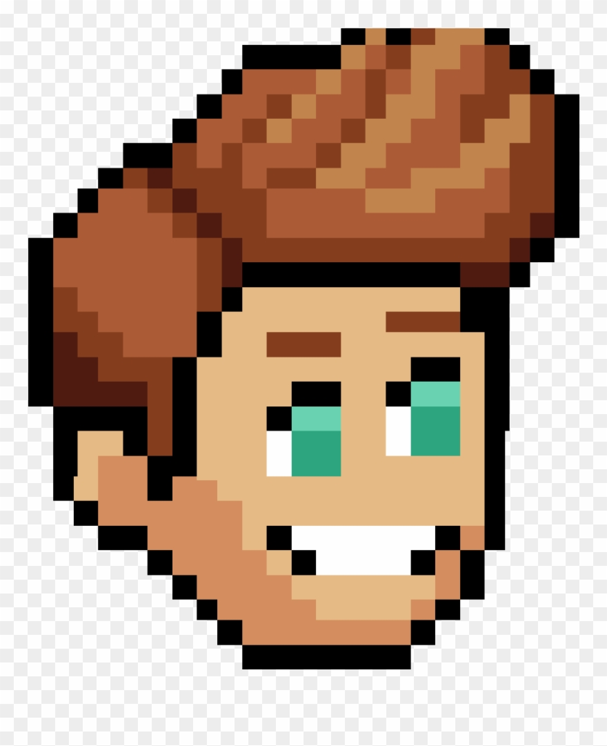 Image Male Brown Pewdiepietubersimulator Hair Pixel Art