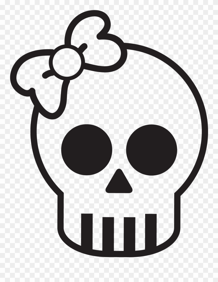 Skull cute. Simple www pixshark com