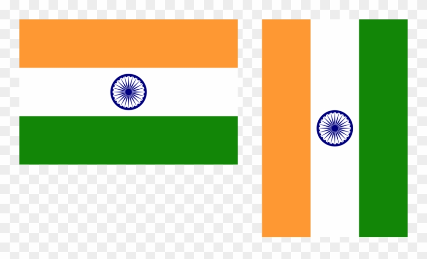 India Flag Vertical Clipart Flag Of India National - India Flag Vertical - Png Download
