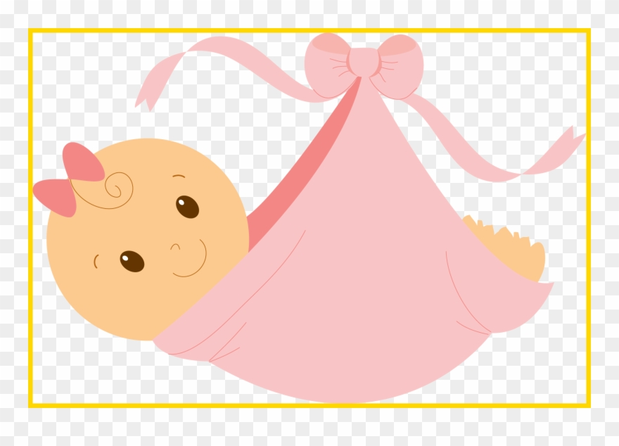 Clipart Girl Dress Baby In A Bundle Cartoon Png Download 509129 Pinclipart