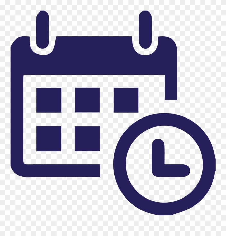 Calendario Clipart.Calendario Time And Attendance Icon Clipart 509482