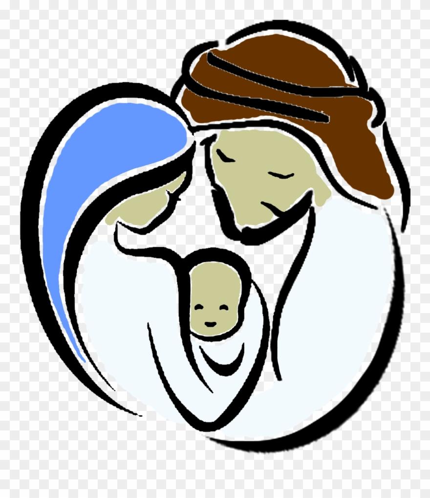 Holy Family Church Chokkad Holy Family Cartoon Clipart 509491 Pinclipart