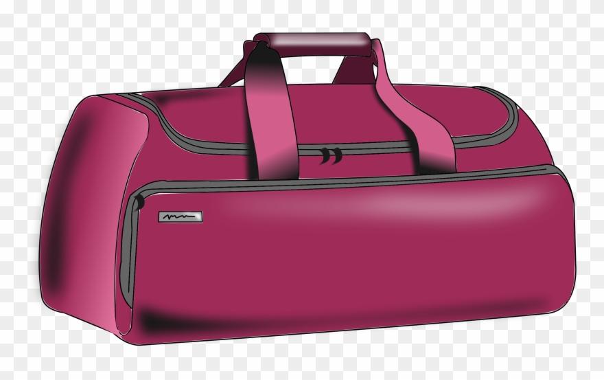 Clipart - Baggage - Duffle Bag Clip Art - Png Download ( 512184 ... dc3d5bbb4a69e