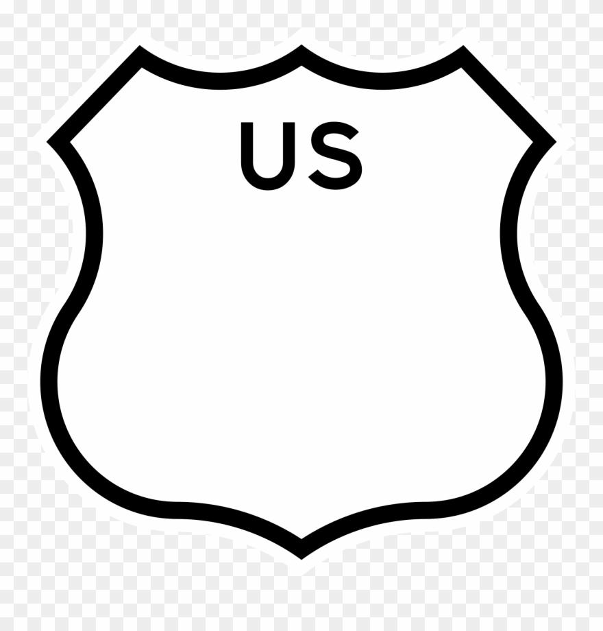 California drawing. Us shield u s