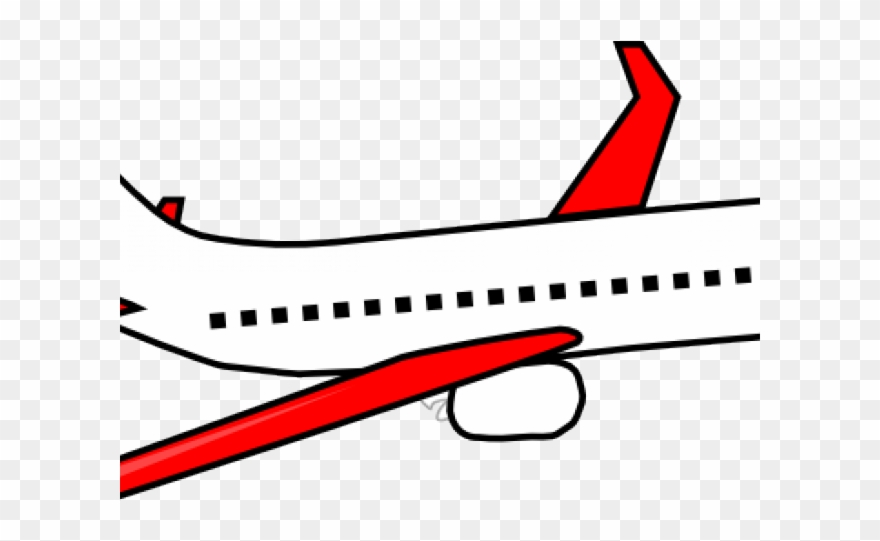 Airplane clear background. Aircraft clipart aero plane