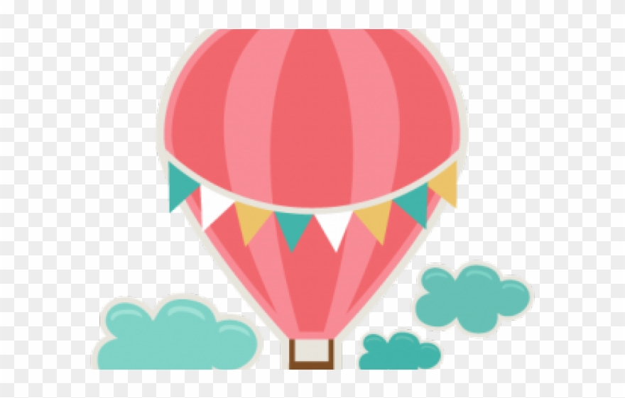 Heart Clipart Hot Air Balloon Cute Hot Air Balloon Clipart Png