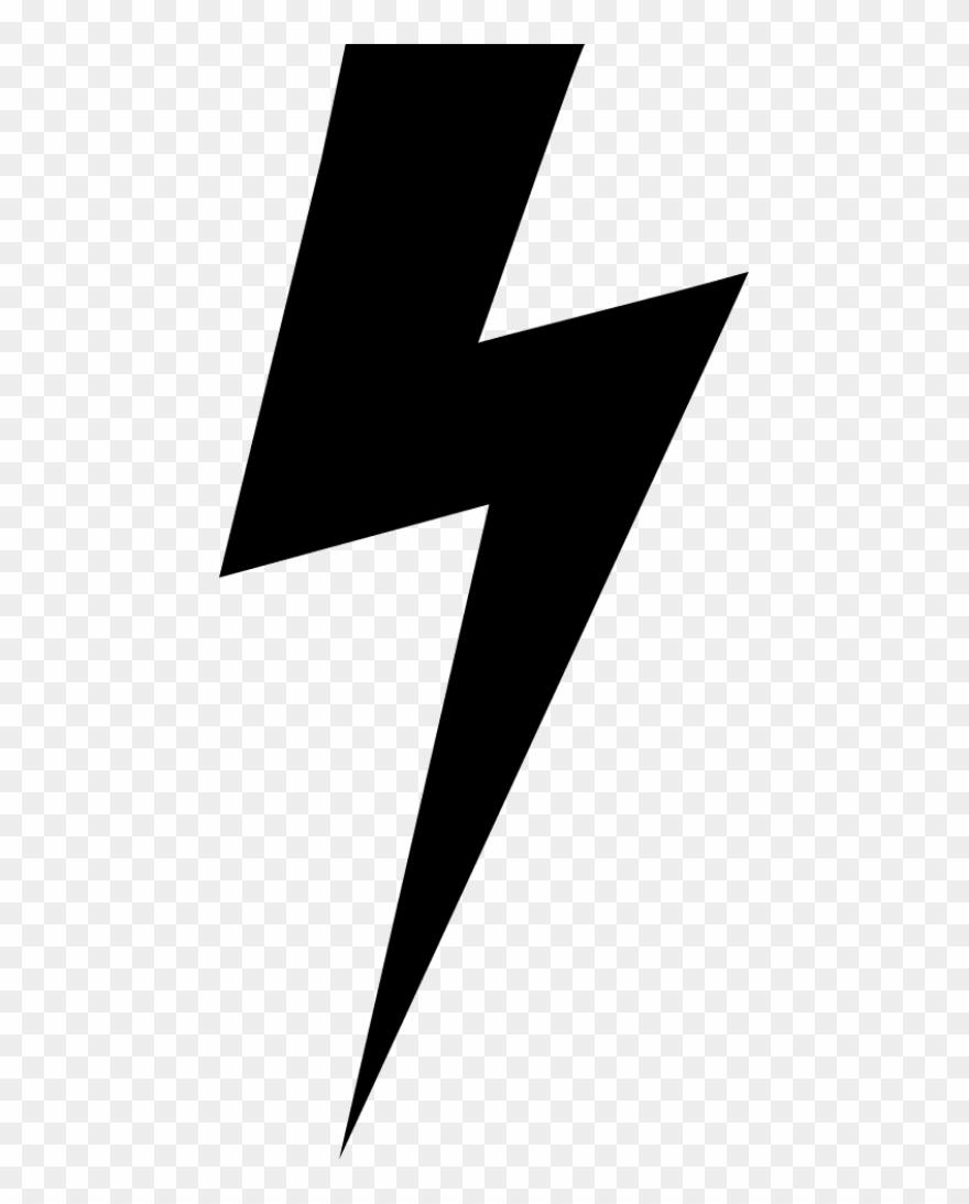 Lightning Bolt Emoji Png - Lightning Bolt Svg Free Clipart