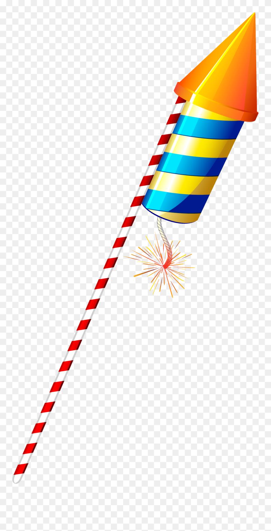 Firework Clipart Diwali Diwali Rocket Png Transparent Png 5213193 Pinclipart
