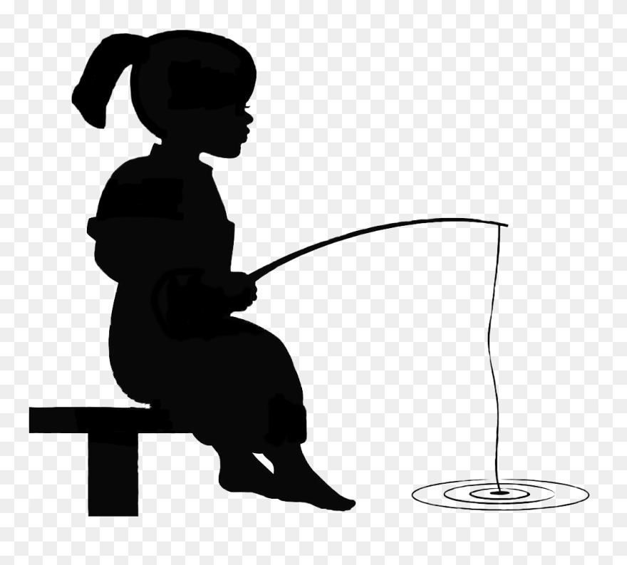 Boy Fishing Clip Art - Royalty Free - GoGraph