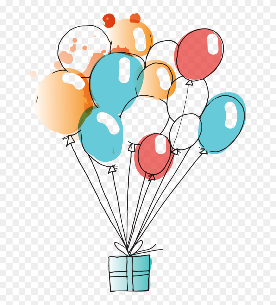 Water Color Balloon Clipart Freeuse Balloons Watercolor Birthday Balloon Watercolor Png Transparent Png 5229107 Pinclipart