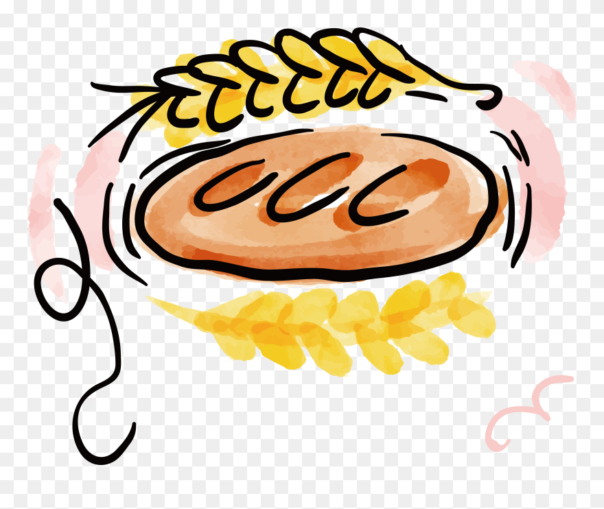 grain clipart wheat flour baking food cartoon watercolor png download 5251430 pinclipart grain clipart wheat flour baking food