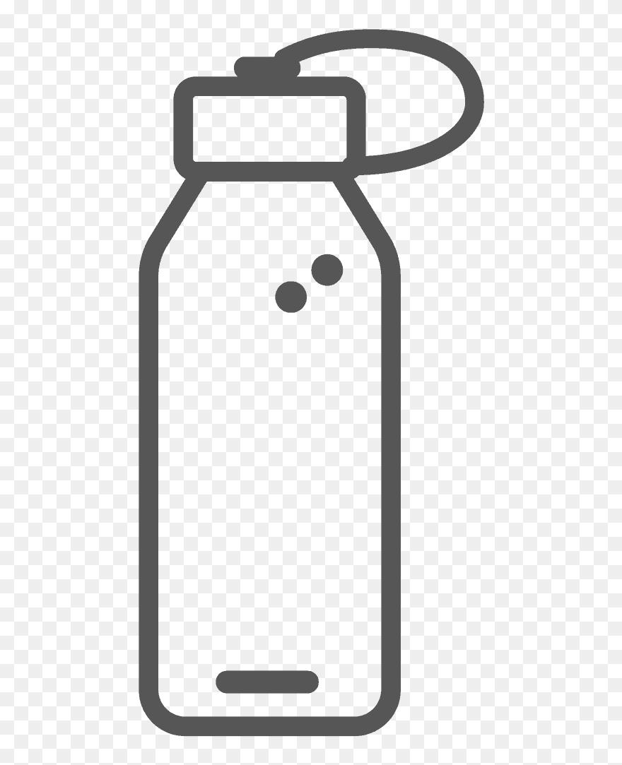 Water Bottle Clipart 5256305 Pinclipart