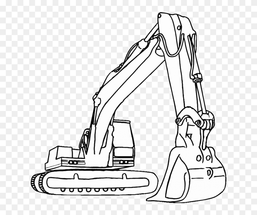 Construction Trucks To Color Png Download Construction - Construction  Coloring Pages Clipart (#5259468) - PinClipart