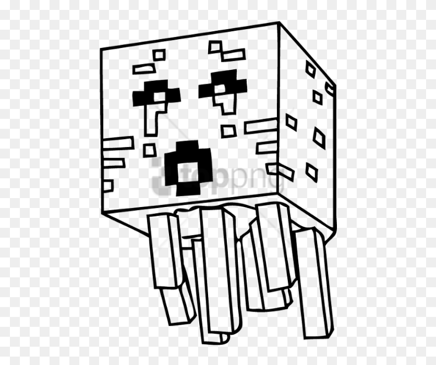 Coloring Pages Drawing Minecraft Png Image With Transparent - Ender Dragon Minecraft  Coloring Pages Clipart (#5259821) - PinClipart
