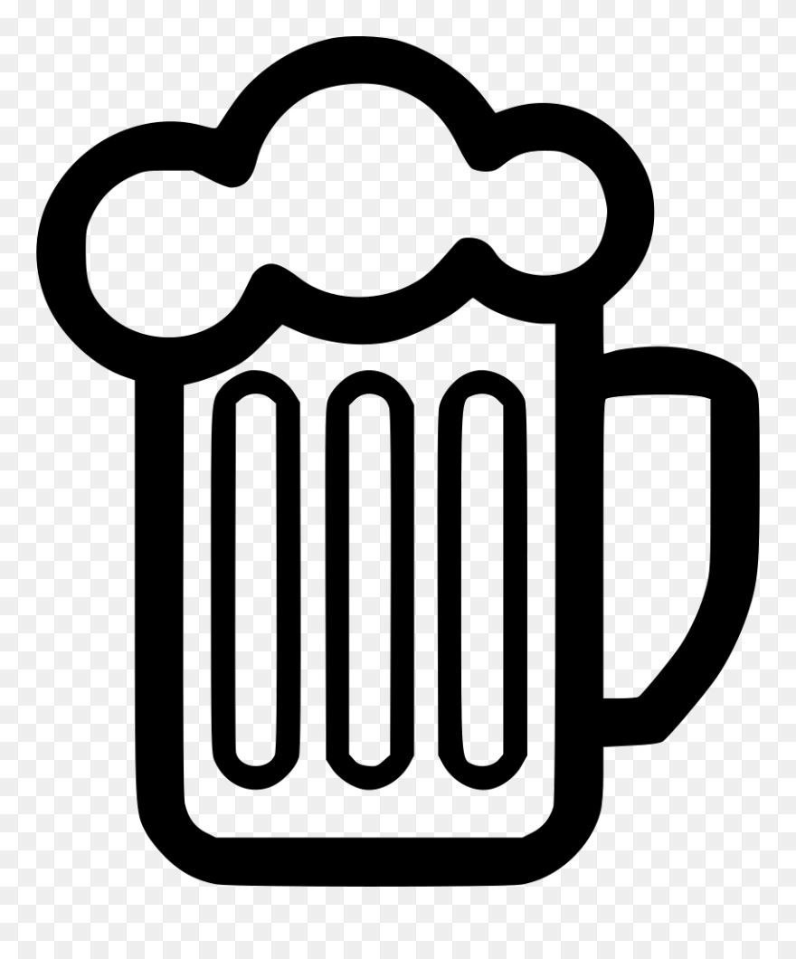 Beer Mug Svg Free Clipart 5268309 Pinclipart