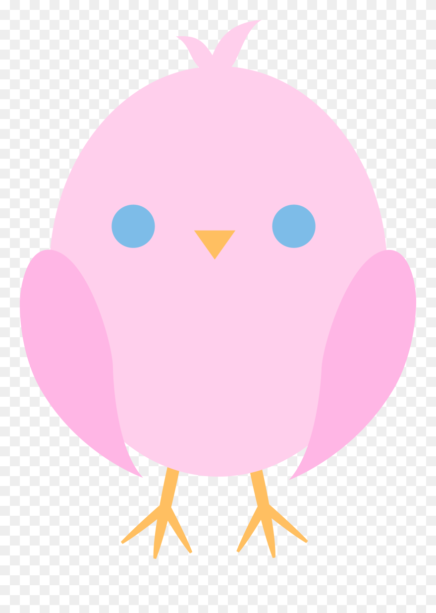 Cute Bird Clipart Baby Shower Baby Chick Cartoon Png Download 5268922 Pinclipart