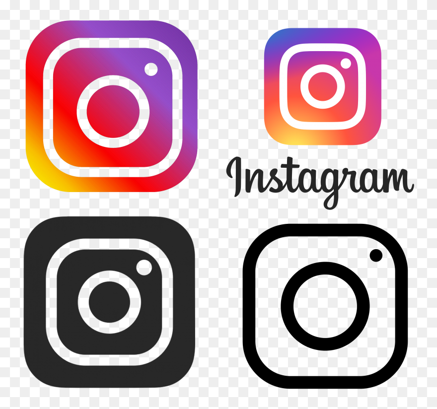 Tik Tok Logo Clipart Svg Freeuse Library Instagram Transparent Instagram Png Download 5271125 Pinclipart