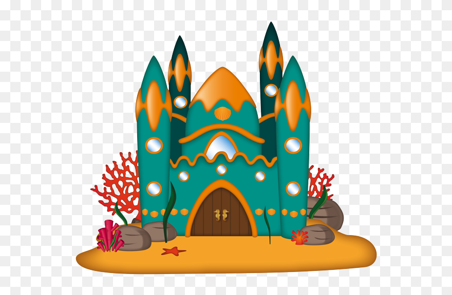 Sea Castle Clip Art