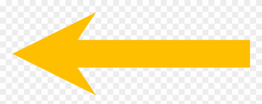 Arrow yellow. File short left png