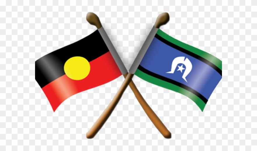 Aboriginal And Torres Strait Islander Flags Clipart 532808