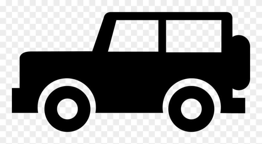 Jeep Silhouette Png Icono De Jeep Clipart 538018 Pinclipart
