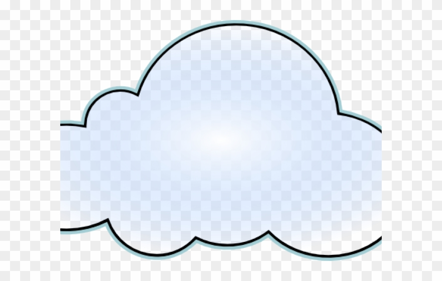 Clouds Clipart - Cloud Coloring Pages - Png Download ...