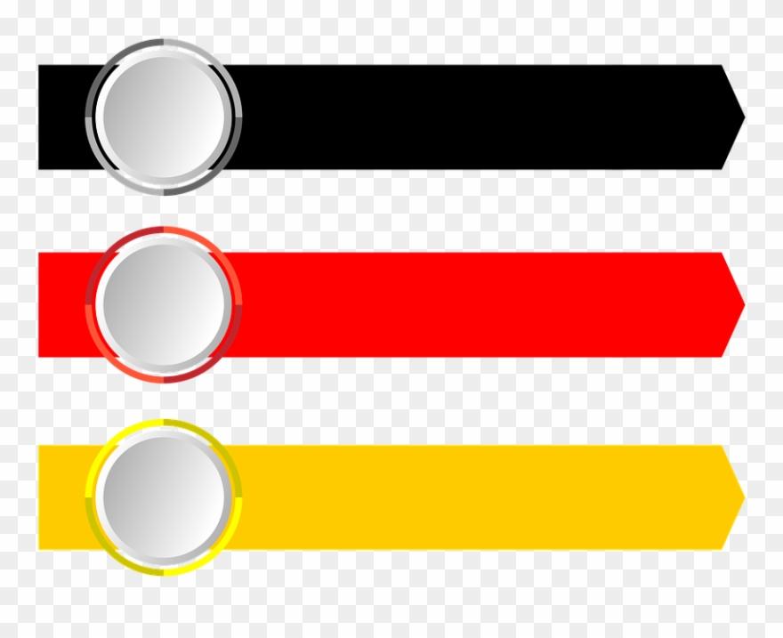 Arrows, Banner - Arrow Banner Vector Png Clipart