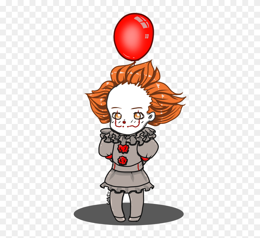 Drawing Clowns Cute Cute Pennywise Drawings Clipart 5302723 Pinclipart