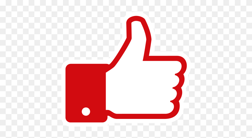 Youtube Facebook Like Button Blog Like Logo Youtube Png Clipart 5305965 Pinclipart