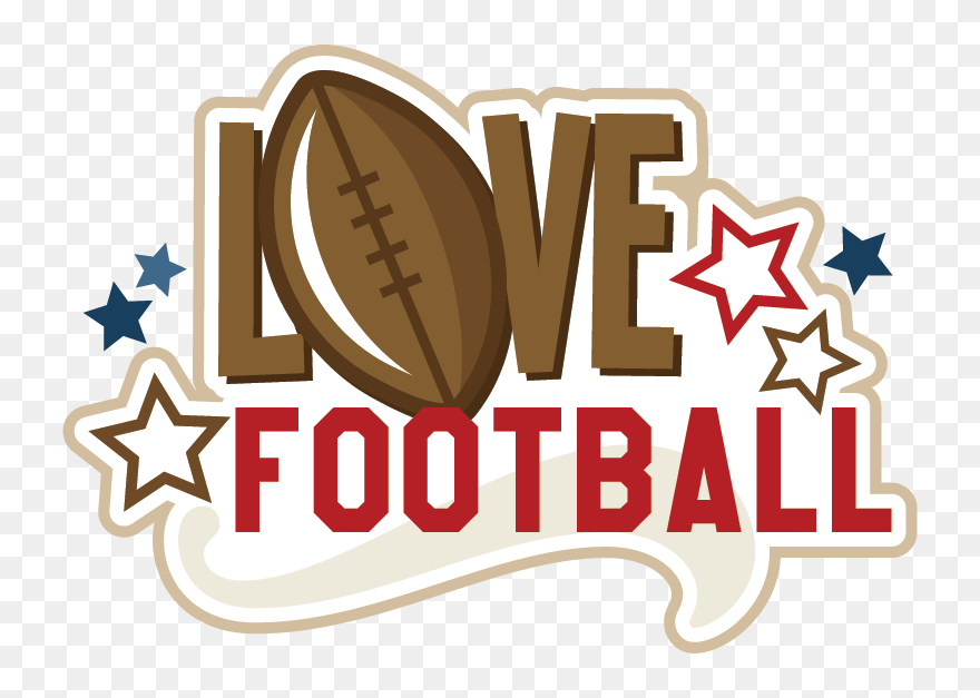 Love Football Clipart Clip Art Royalty Free Download Football Scrapbooking Png Download 5313574 Pinclipart