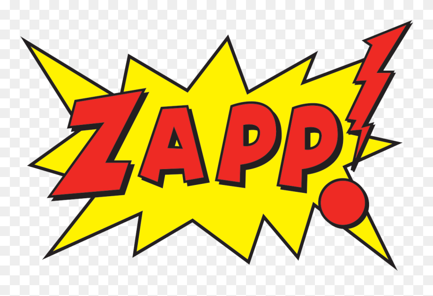 Comic Book Art Clipart Clipart Royalty Free Stock Zapp Pow Png Transparent Png 5322678 Pinclipart
