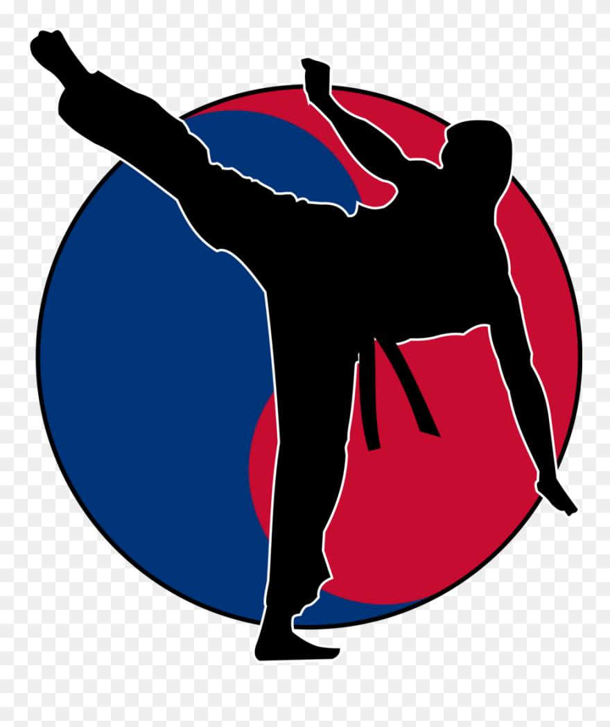 Taekwondo Clipart Taekwondo Martial Arts Fourth Degree Taekwondo Logos Png Download 5335093 Pinclipart