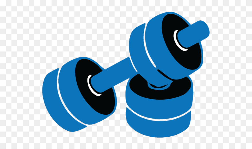 Dumbbells Clipart Gym Equipment Transparent Gym Cartoon Png 5345788 Pinclipart