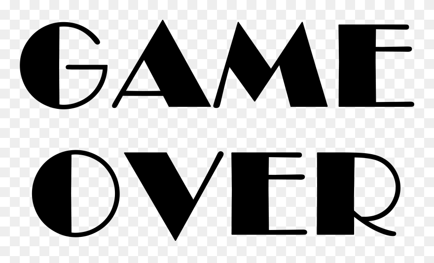 Game Over Png Clipart 5360622 Pinclipart