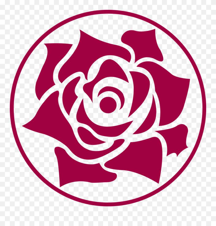 Download Black Rose Clip Art - Vector Rose Logo Png ...