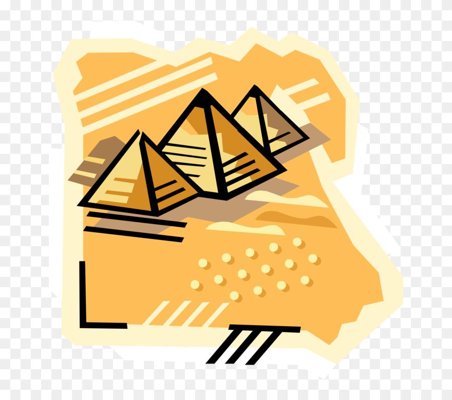 Pyramid Clipart Tatluhang Cartoon Pyramids In Egypt Png Download 5370308 Pinclipart