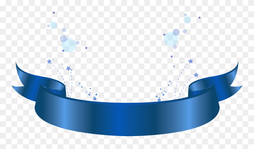 Light Blue Clipart Banner Blue Ribbon Label Png Transparent Png 5385686 Pinclipart