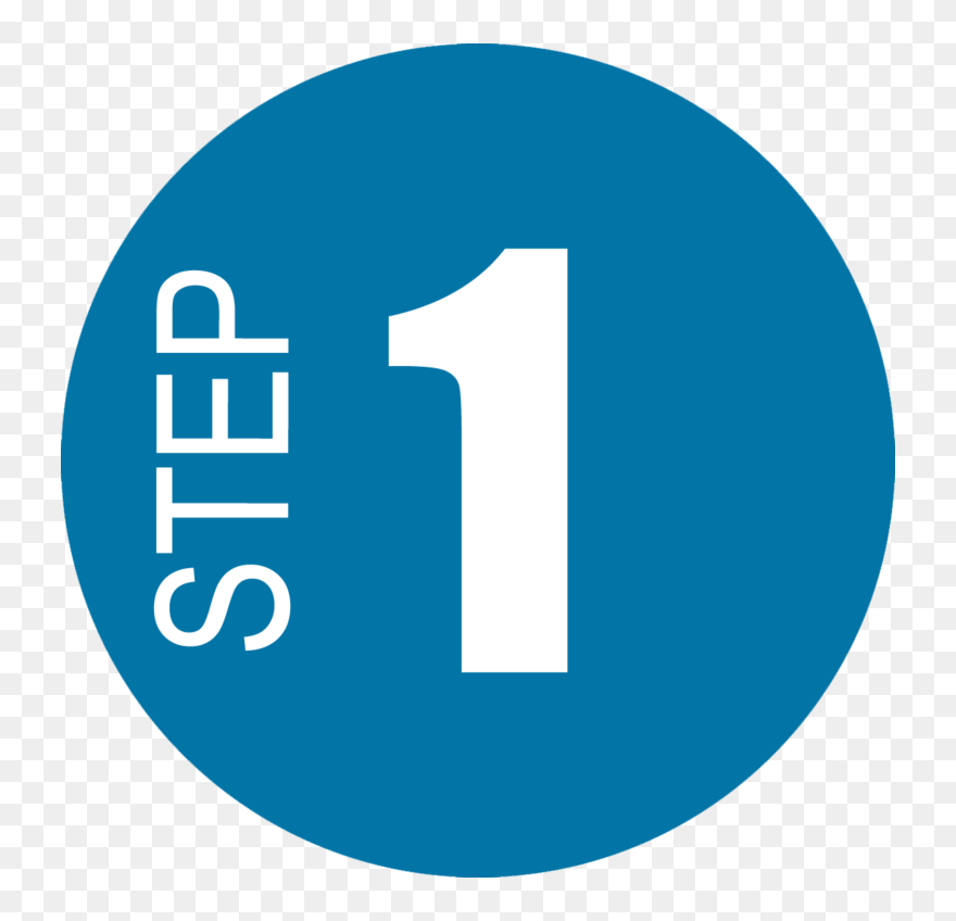 Step 1 Icon Clipart 5387846 Pinclipart