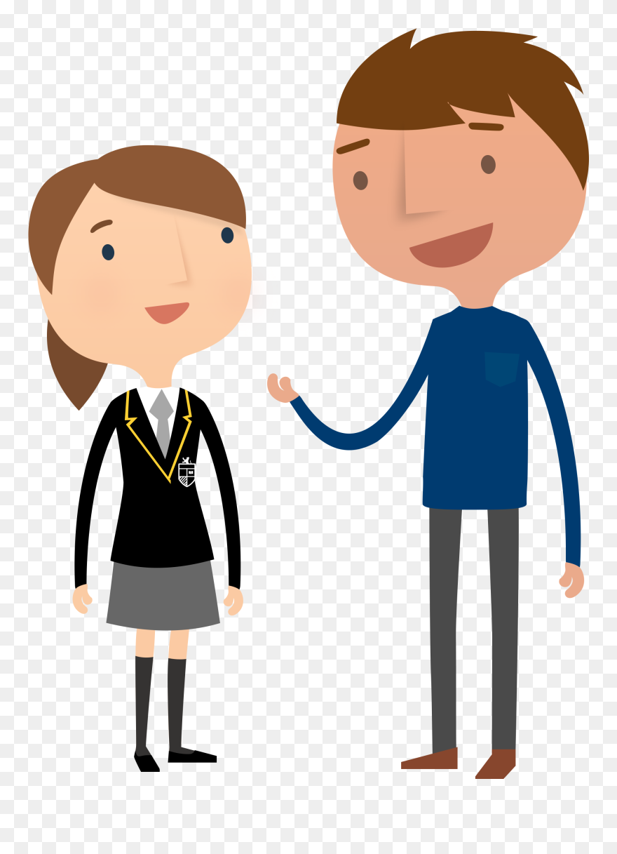 Cartoon Mentor And Student Clipart 5399601 Pinclipart