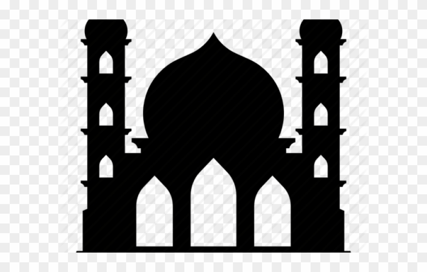 Mosque Clipart Moon Png Icon Kubah Masjid Transparent Png 540015 Pinclipart
