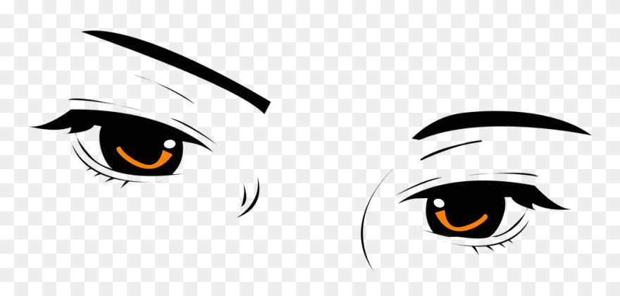 c2b58a4a Eyes Look Beautiful U00b7 Free Vector Graphic On Pixabay - Eyebrow Clipart
