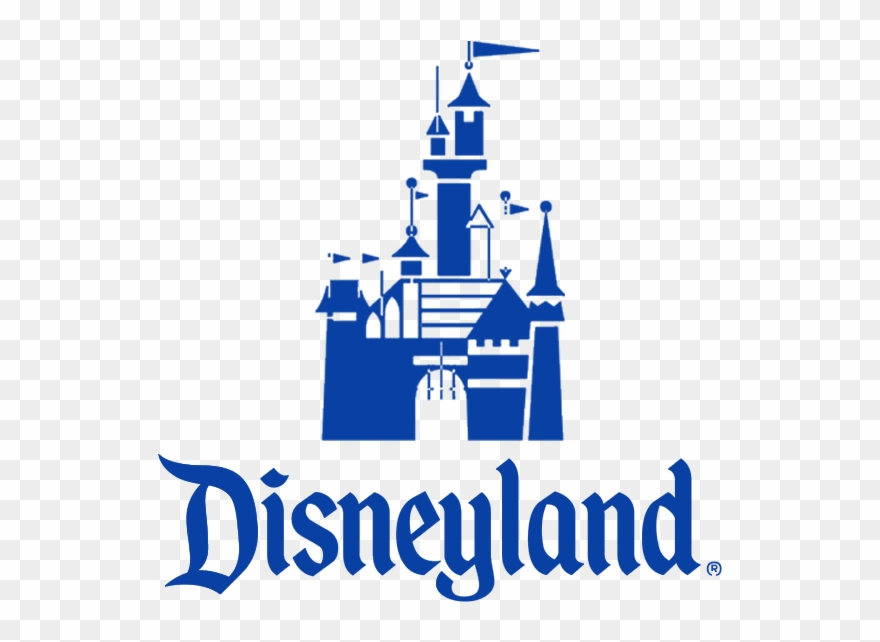 Disneyland Blue Square - Disneyland Logo Clipart