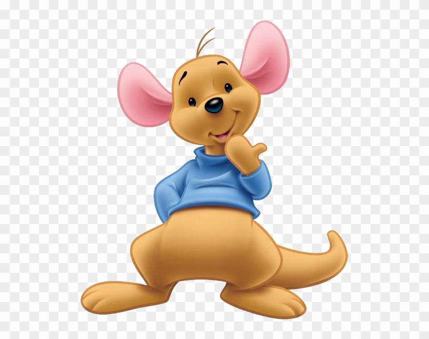Kanga & Roo Clipart - Roo Winnie The Pooh - Png Download ...