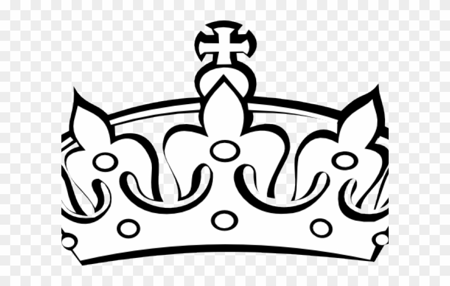 King Crown White Clipart 543179