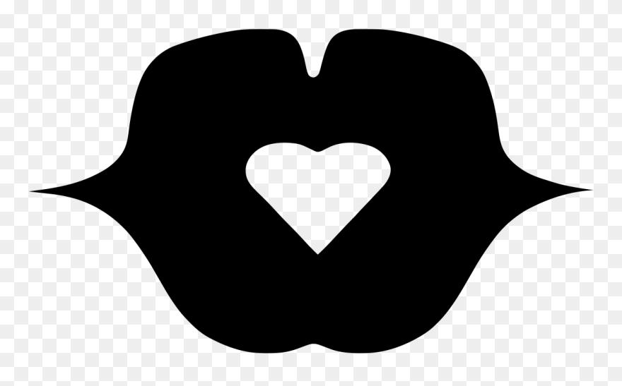 Logo Bisou Mon Coeur Heart Clipart 5409353 Pinclipart