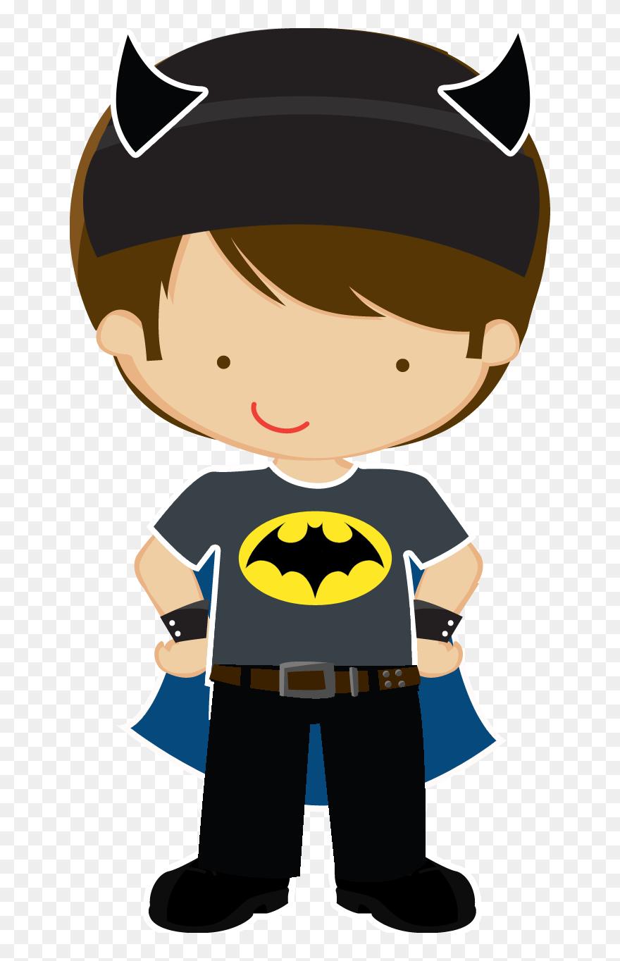 Superhero Clipart Cute Super - Batgirl Baby , Free Transparent Clipart -  ClipartKey